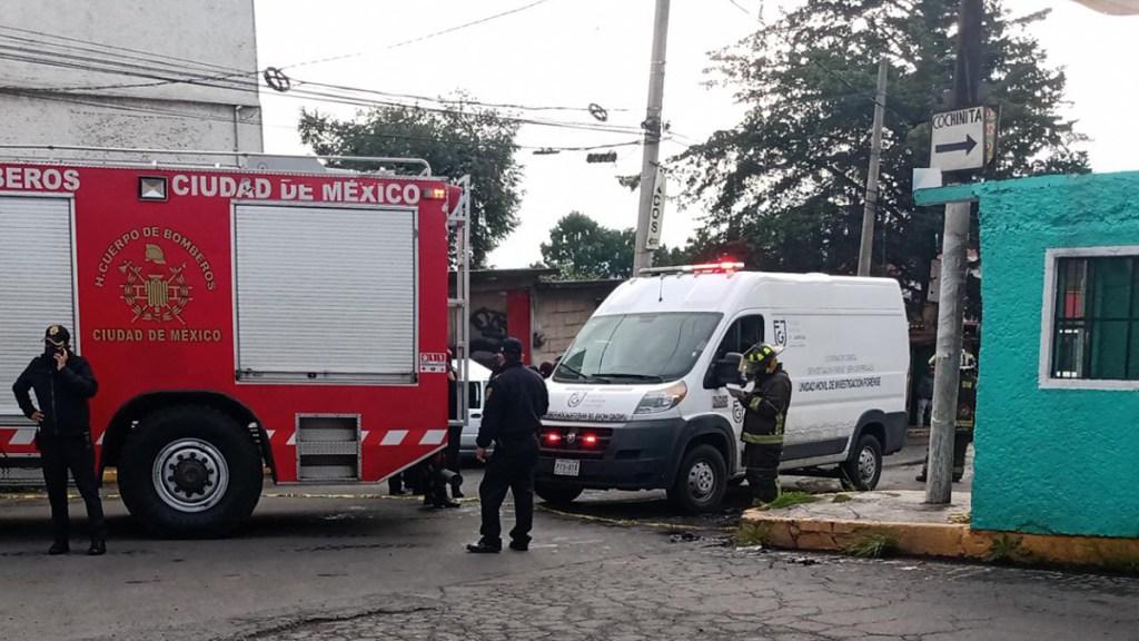 Niña de 10 años muere atropellada en Tlalpan por choque - Choque en Tlalpan donde murió atropellada niña de 10 años. Foto de @NuevaNota_Roja