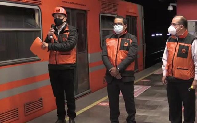 Suspensión parcial en Línea 6, por incidente pese a mantenimiento: Metro - Conferencia Metro por incidente en Línea 6. Captura de pantalla