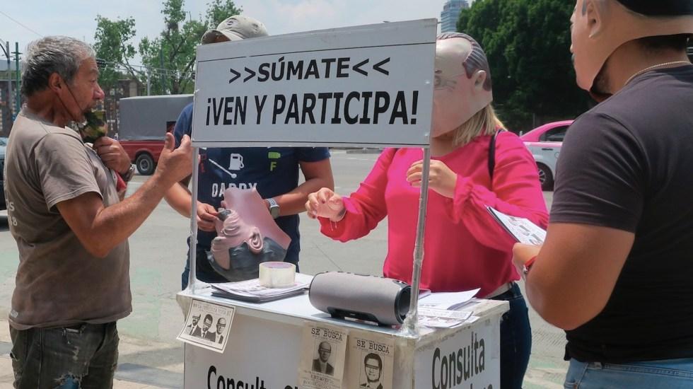Acusan al INE de no promover consulta sobre expresidentes - Acusan al INE de no promover consulta sobre expresidentes. Foto de EFE