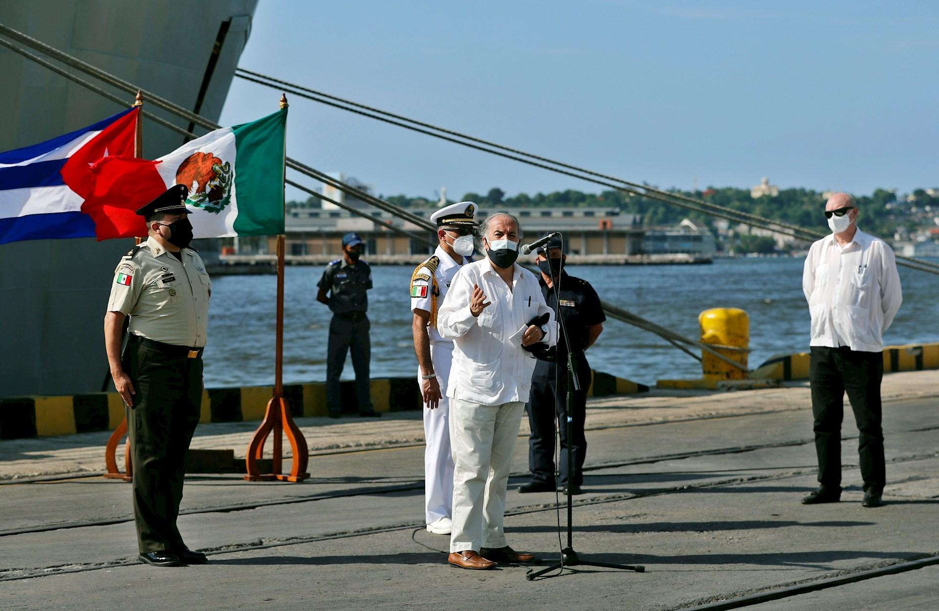 Cuba barco ayuda humanitaria
