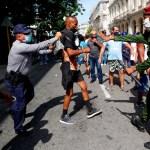 Estados Unidos sanciona a la Policía de Cuba por represión de protestas - Cuba protestas