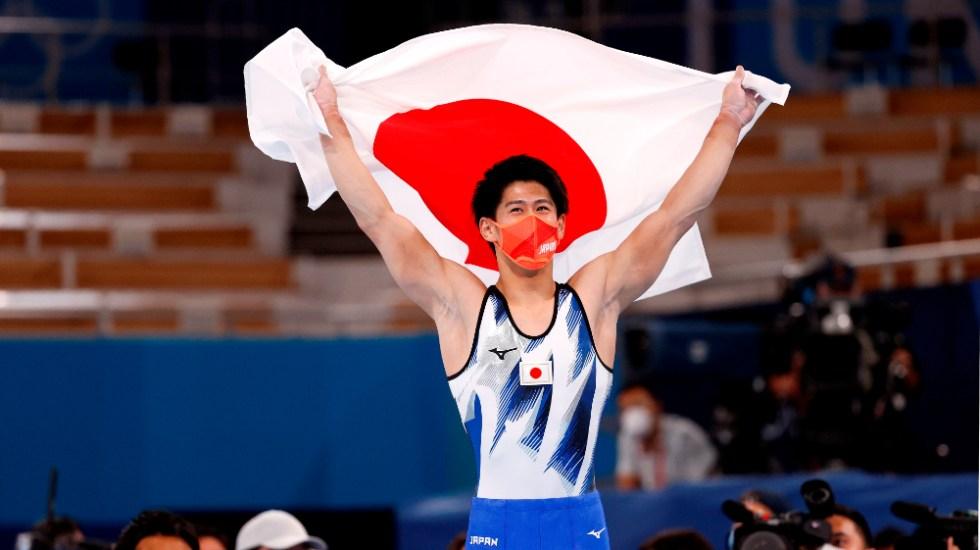 Daiki Hashimoto, campeón olímpico más joven en la historia de la gimnasia - Daiki Hashimoto
