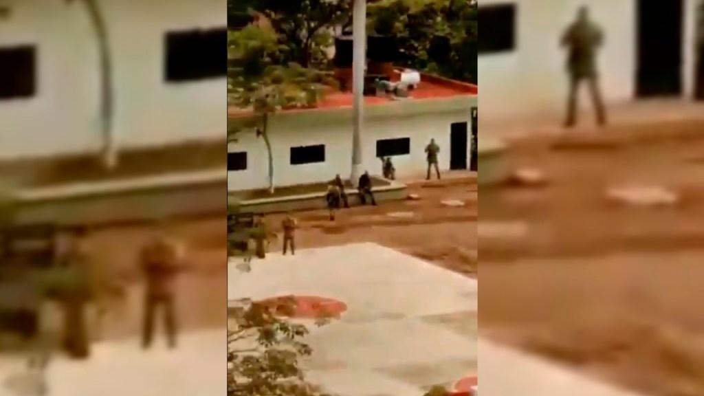 Gobierno elaborará plan integral de Bienestar en Aguililla, Michoacán - Helipuerto Aguililla