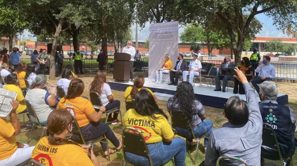 Gobierno de México se disculpa por desaparición forzada de 27 personas en Tamaulipas - Gobierno de México se disculpa por desaparición forzada de 27 personas en Tamaulipas. Foto de Alejandro Encinas
