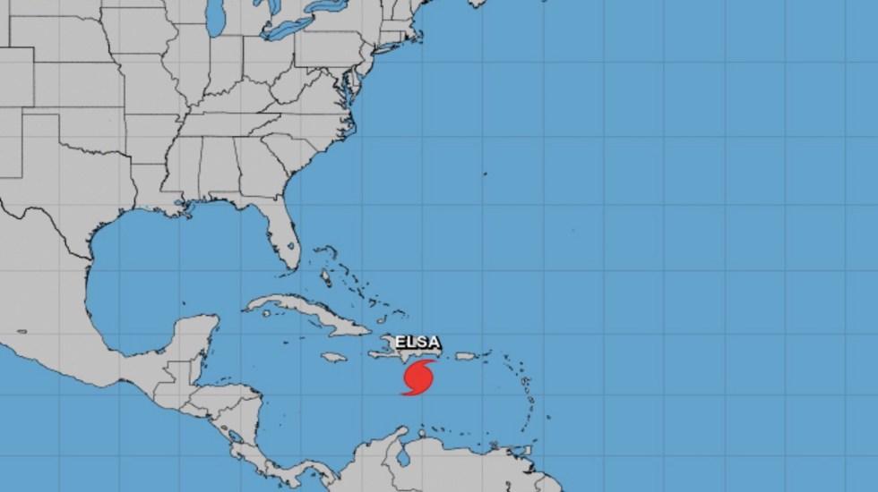 Elsa se desplaza hacia República Dominicana y Haití - Elsa se desplaza hacia República Dominicana y Haití. Foto de NHC