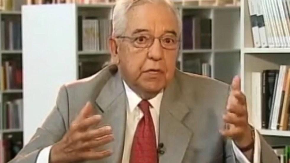 Murió Fernando Zertuche, exsecretario Ejecutivo del IFE - Murió Fernando Zertuche, exsecretario Ejecutivo del IFE. Foto de Noticias en la Mira