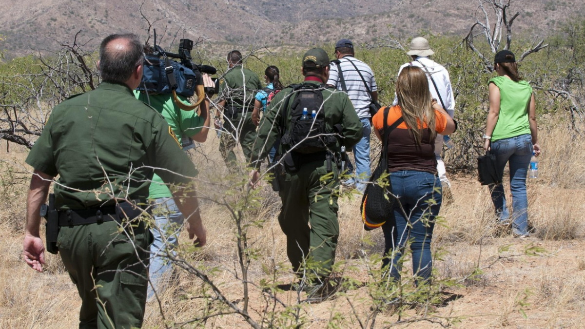 migrantes patrulla fronteriza