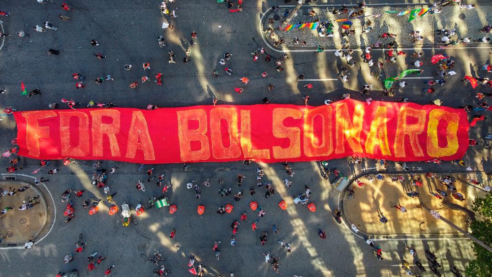 Fuera Bolsonaro protestas Brasil