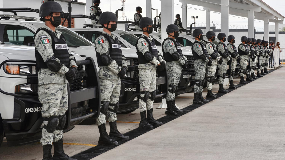 """Asegura AMLO que no se está militarizando al país; """"Guardias Nacionales dependen de las Fuerzas Armadas"""" - Guardia Nacional López Obrador"""