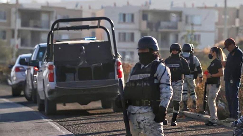 Abandonan en Tijuana los cadáveres de ocho personas - Guardia Nacional en Tijuana, Baja California