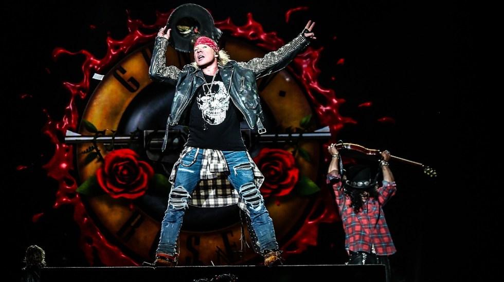 Guns N' Roses anuncia tres conciertos en México para octubre - Guns N Roses