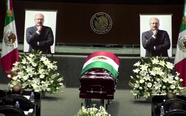 Homenaje en la Cámara de Diputados a René Juárez Cisneros - Homenaje luctuoso a René Juárez Cisneros en Cámara de Diputados
