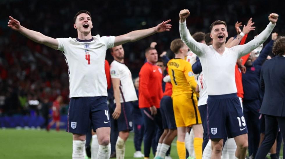 Inglaterra derrota a Dinamarca y enfrentará a Italia en el final de la Eurocopa - Inglaterra Dinamarca partido Eurocopa