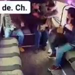 #Video Pasajeros ignoran a asaltante en la México-Texcoco y lo dejan sin botín