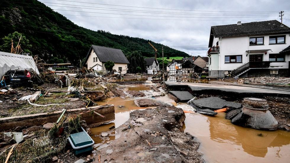 Lluvias e inundaciones en Alemania dejan 30 muertos - Inundaciones en Alemania. Foto de EFE
