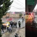 Lluvias provocan severas inundaciones en el Valle de México