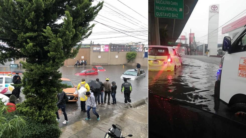 Lluvias provocan severas inundaciones en el Valle de México - Inundaciones Valle de México Naucalpan Tlalnepantla Atizapán