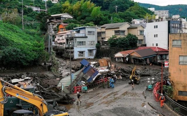 Activan alerta máxima en el suroeste de Japón por fuertes lluvias - Activan Tifón se aproxima a Japón y amenaza varias pruebas de Tokio 2020. Foto de EFE máxima en el suroeste de Japón por fuertes lluvias. Foto de EFE