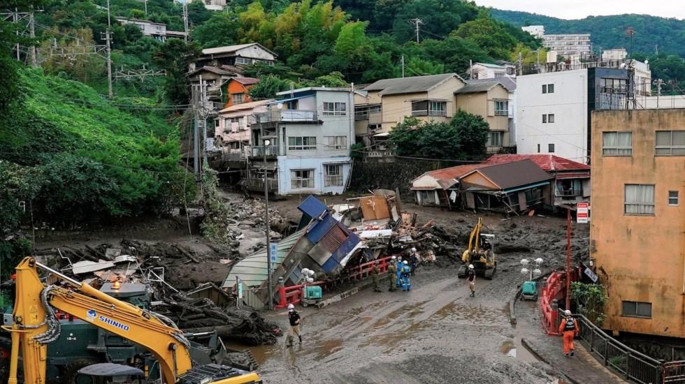 Activan alerta máxima en el suroeste de Japón por fuertes lluvias - Activan alerta máxima en el suroeste de Japón por fuertes lluvias. Foto de EFE