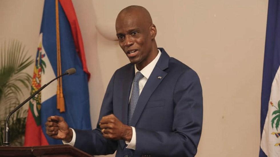 #Perfil Jovenel Moïse, presidente de Haití asesinado - Jovenel Moïse, presidente de Haití. Foto de @jovenelmoise