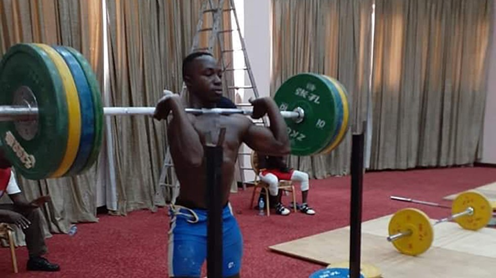 Policía de Japón encuentra a atleta de Uganda que huyó de Juegos Olímpicos - Atleta de Uganda. Foto de @juliusssekitoleko