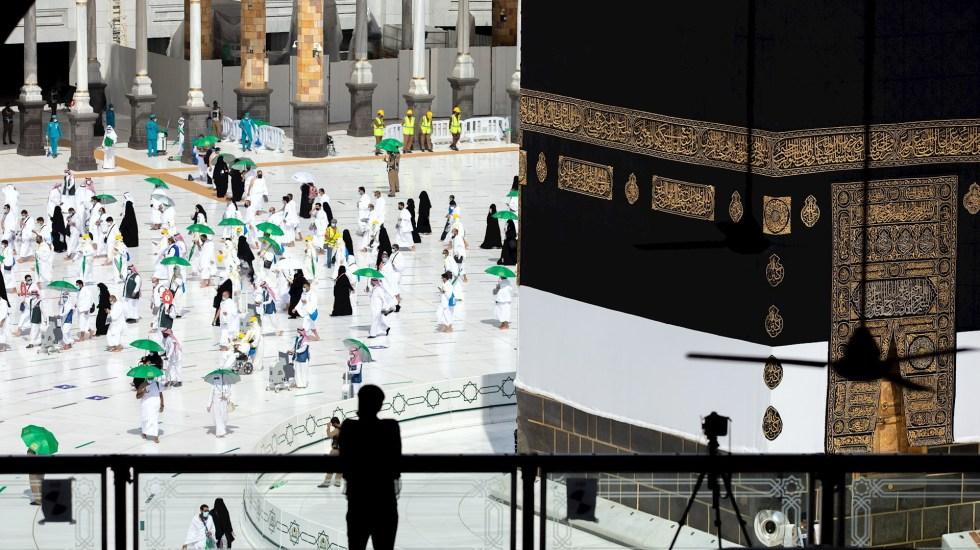 Arranca gran peregrinación a La Meca en medio de restricciones por COVID-19 - La Meca árabes musulman arabia saudita