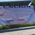 Presuntos integrantes del Cártel del Golfo anuncian tregua en Tamaulipas