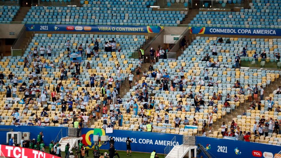Aglomeraciones y exámenes de COVID-19 falsos anteceden final de Copa América - Maracaná final Copa América 2021