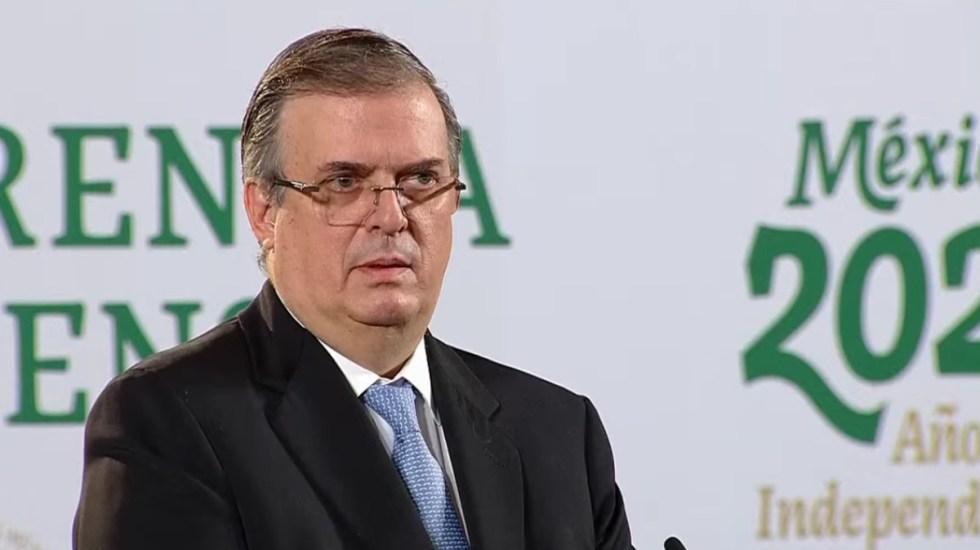 Faltan dos años y medio, no perdamos la concentración: Ebrard sobre posible destape a la Presidencia - Marcelo Ebrard. Captura de pantalla