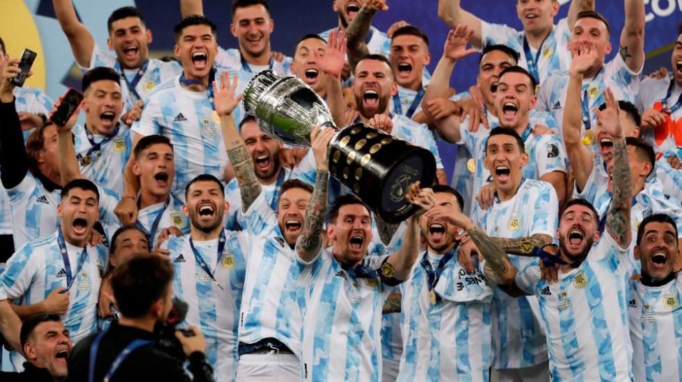 Argentina rompe maldición y gana la Copa América - Messi Argentina Copa América