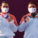 México gana primera medalla en Tokio; bronce en tiro con arco por equipos