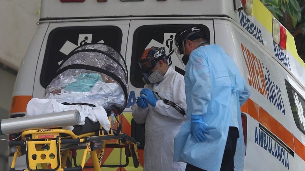 México registró en las últimas 24 horas 18 mil 809 contagios y 450 muertes por COVID-19 - Foto de EFE/ Sáshenka Gutiérrez.