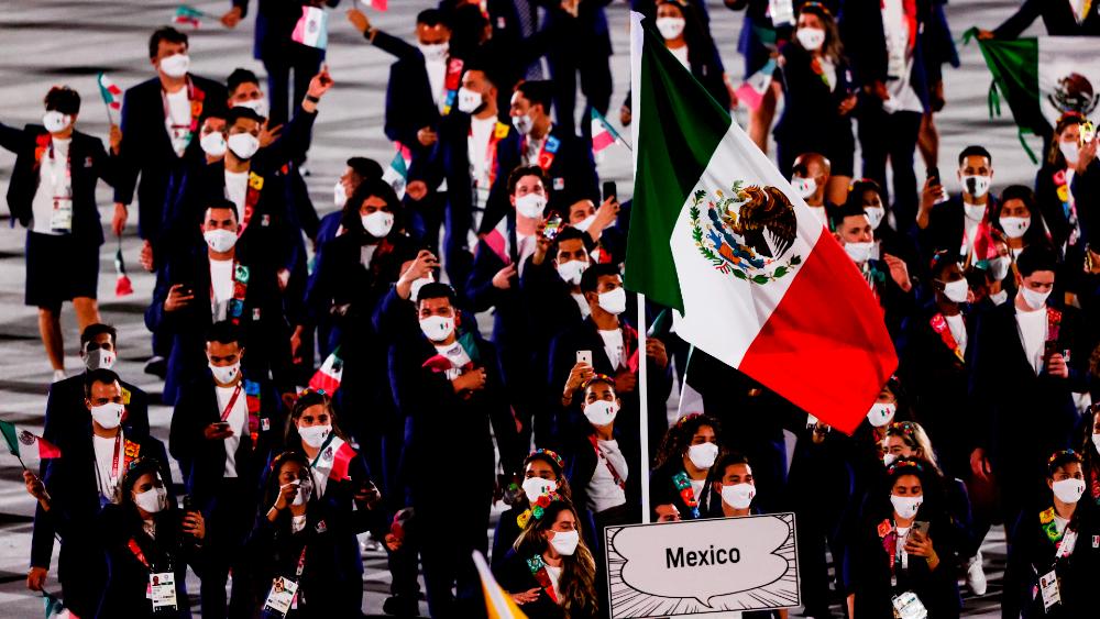 México desfile inauguración Tokio 2020