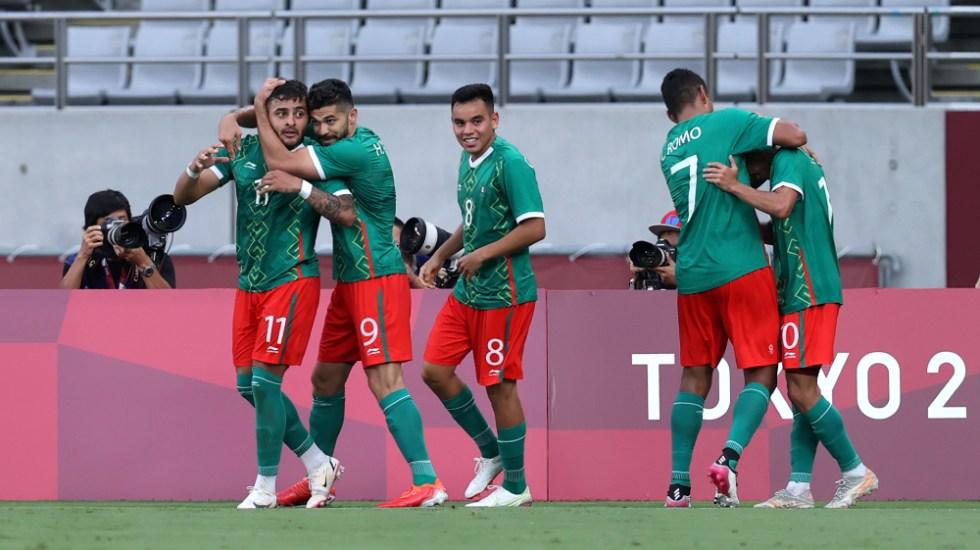 México golea 4-1 a Francia en su debut en Tokio 2020 - México Tokio 2020 Francia 2