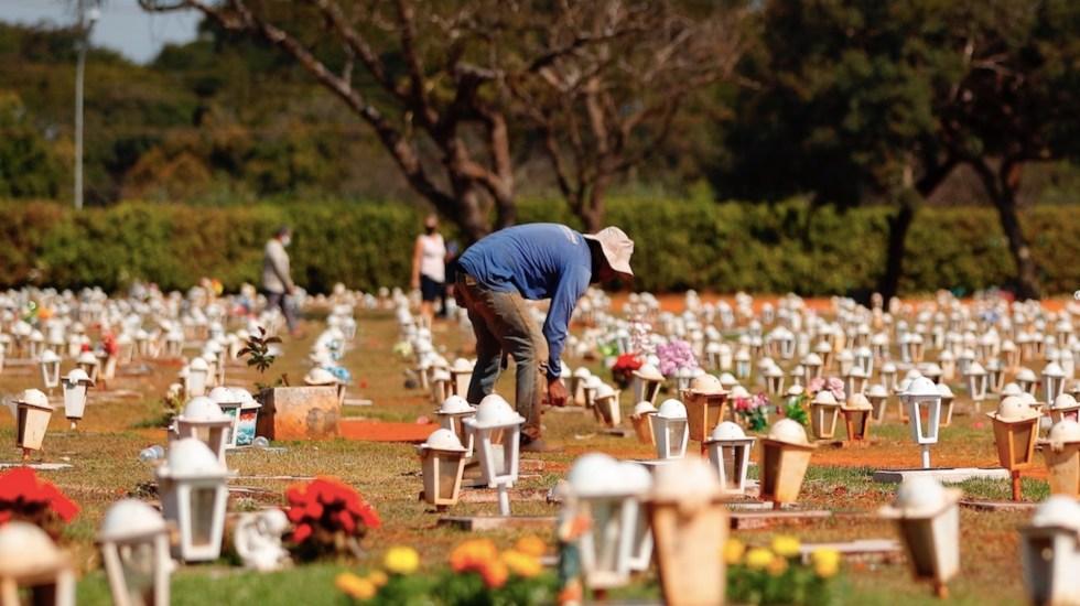 Más de un millón de niños perdieron a uno de sus padres o abuelos por COVID-19 - Más de un millón de niños perdieron a uno de sus padres o abuelos por COVID-19. Foto de EFE