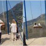 #Videos Mujeres caen de columpio ubicado a mil 500 metros de altura