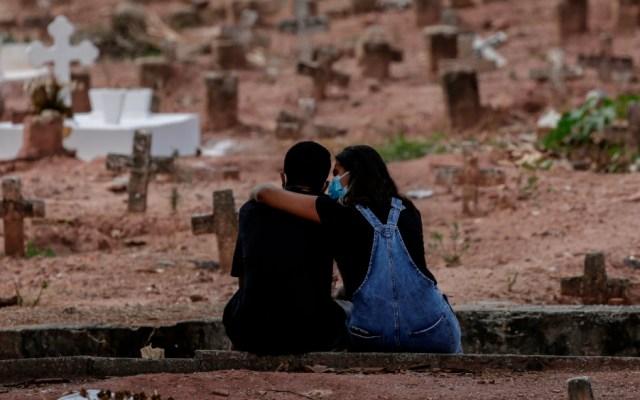 Brasil superó los 541 mil muertos por el COVID-19 - Panteón Río de Janeiro Brasil COVID