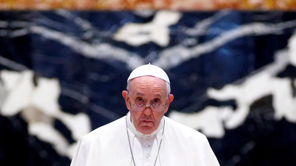 Papa Francisco, operado con éxito de problema de colon - Papa Francisco. Foto de EFE