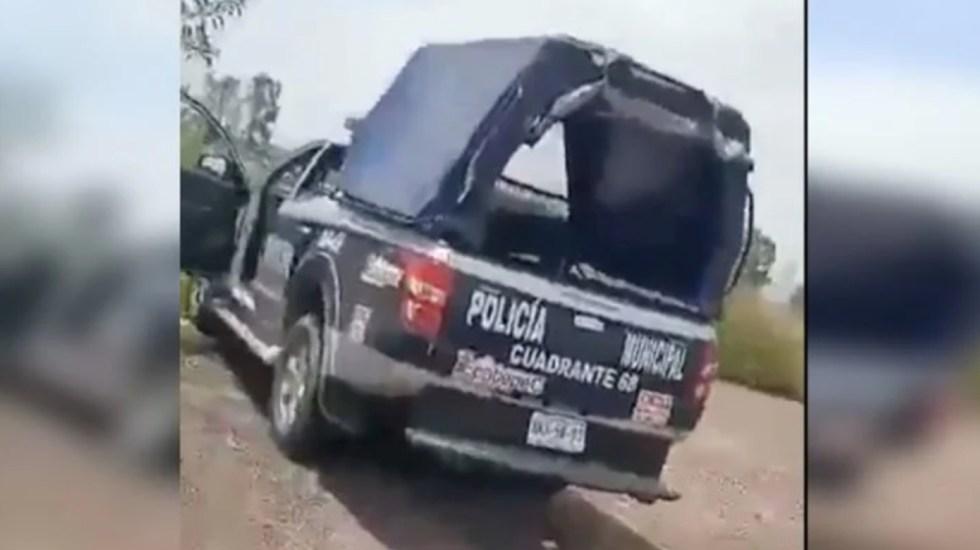 Destituyen a dos policías de Ecatepec por tener sexo en patrulla - patrulla Ecatepec policías sexo