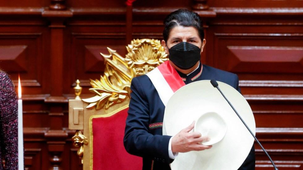 Pedro Castillo asume la presidencia de Perú - Pedro Castillo Perú