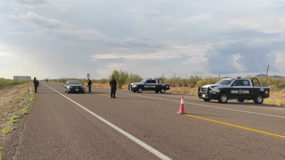 Padre halla muertos a sus dos hijos tras tres días buscándolos - Policía de Sonora. Foto de @ssp_sonora