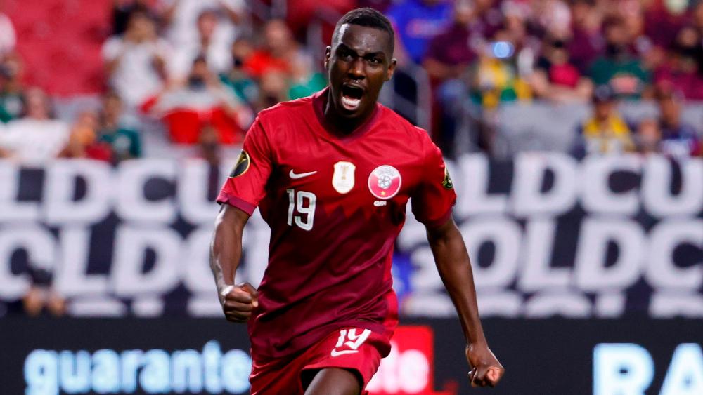 Qatar derrota a El Salvador y clasifica a semifinales de la Copa Oro - Qatar Ali Al Moez Copa Oro
