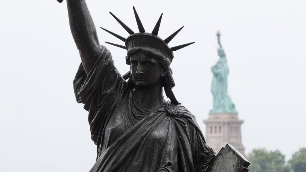 Nueva York suma segunda Estatua de la Libertad - Réplica de la Estatua de la Libertad en Nueva York. Foto de @maximusupinNYc