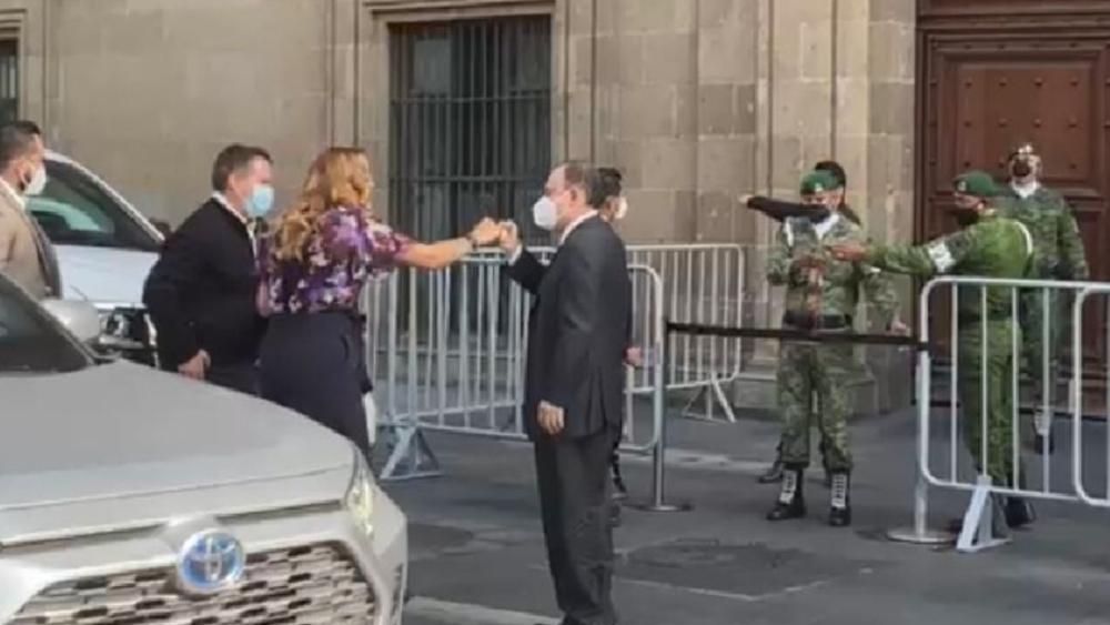 Reunion gobernadores Morena AMLO