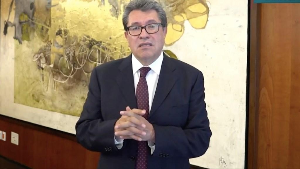 Monreal va por aplazar entrada en vigor de reforma sobre outsourcing - Monreal presenta iniciativa para aplazar entrada en vigor de reforma en materia de subcontratación. Foto tomada de video