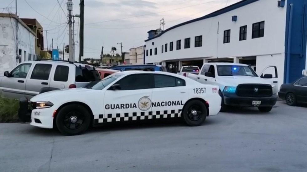 Comando libera al 'Calamardo', capo del Cártel del Golfo - Sede de la Fiscalía de Tamaulipas en Reynosa atacada por comando para liberar al 'Calamardo'. Foto Especial / Twitter
