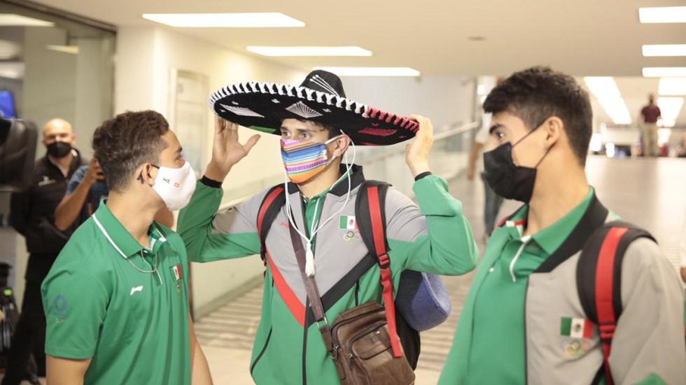Los cinco retos de México en los Juegos Olímpicos de Tokio - Seleccionados mexicanos rumbo a Tokio. Foto de @COM_Mexico