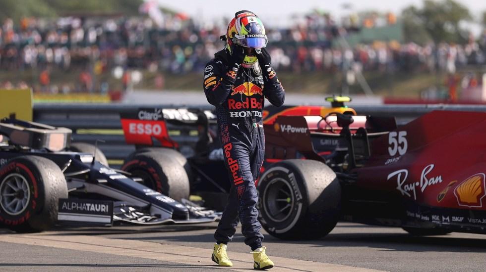 """Ha sido un fin de semana para el olvido"", lamenta 'Checo' Pérez desempeño en Gran Bretaña - Sergio Checo Pérez F1 Formula 1"