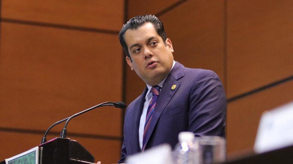 Morena prevé nombrar a Sergio Gutiérrez como presidente de la Mesa Directiva de San Lázaro - Sergio Gutiérrez Luna. Foto de Cámara de Diputados