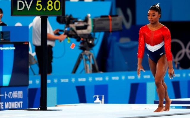 Simone Biles, fuera de la final de gimnasia artística por equipos - Simone Biles